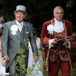The Fiddler with the Master of Ceremonies