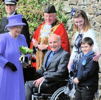 Royal Visit to St Ives – May 2013