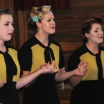 The Three Belles and their superb rendition of Boogie Woogie Bugle Boy
