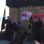 Unveiling of the HMS Wave plaque