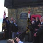 HMS Wave plaque unveiled