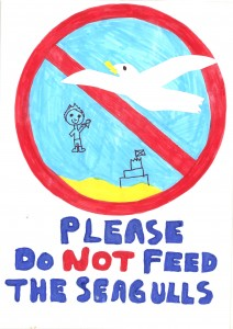 Winning Poster by Micho of Nancledra School (Junior Winner)