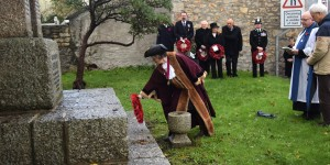 Deputy Mayor lays wreath at Lelant