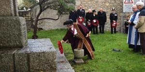 Deputy Mayor lays wreath at Lelant