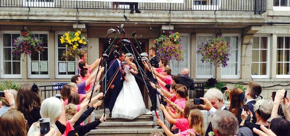 Weddings / receptions at St Ives Guildhall