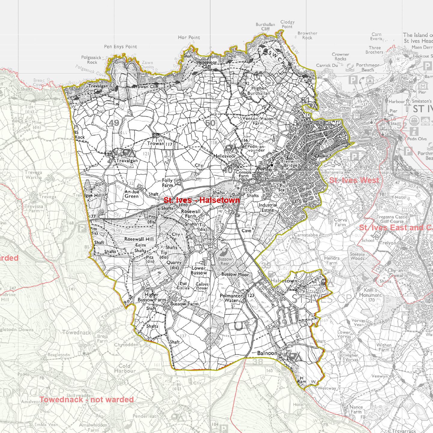 St Ives Council Parish St Ives Halstown Ward