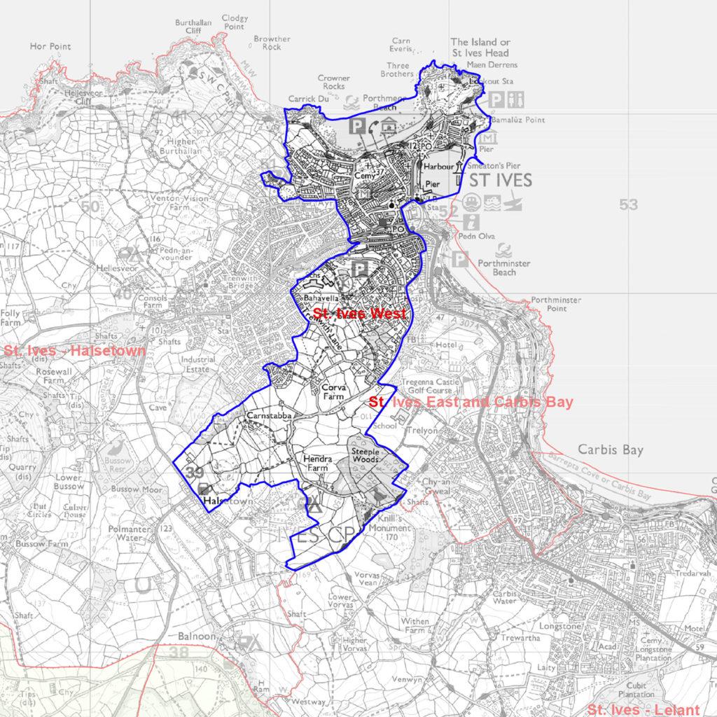 St Ives Council Parish West Ward