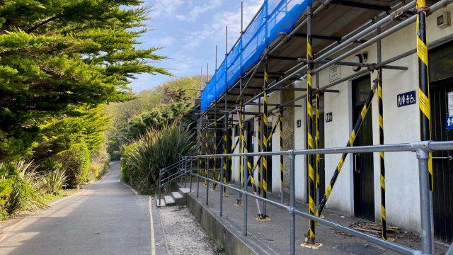 PORTHMINSTER TOILETS ROOF REPAIRS