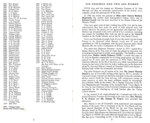 St Ives Mayors from 1861 to 1973
