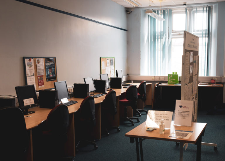 St Ives Council Places Computer Room in the Library