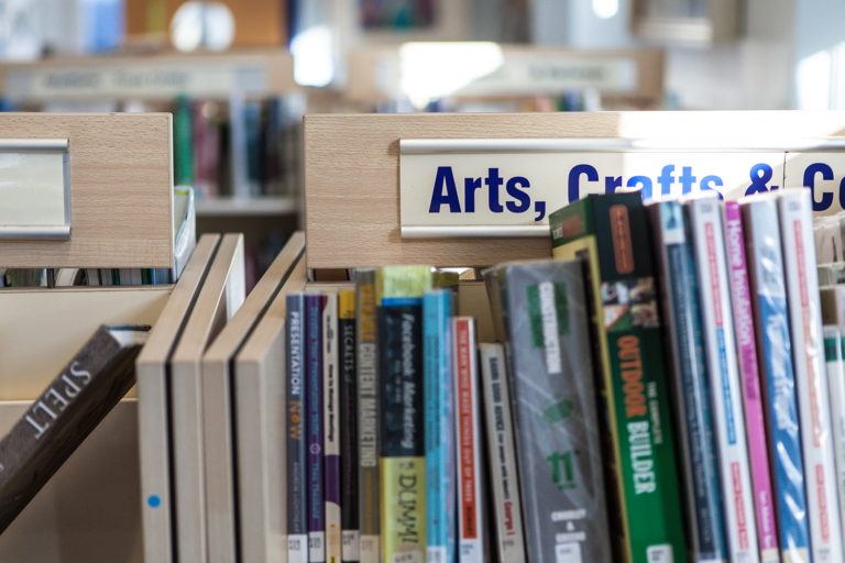 St Ives Library Arts Crafts