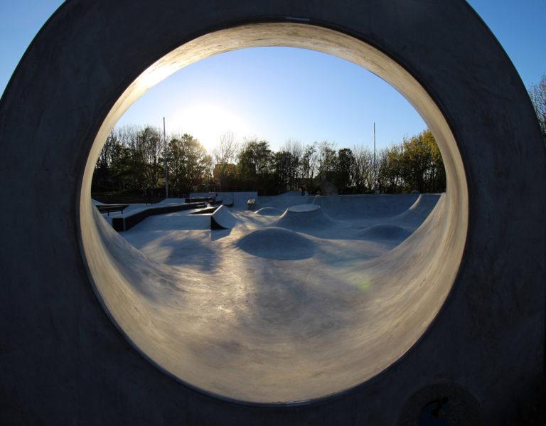 St Ives Skatepark portal vortex