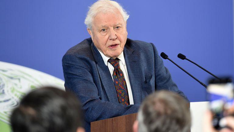 David Attenborough at G7