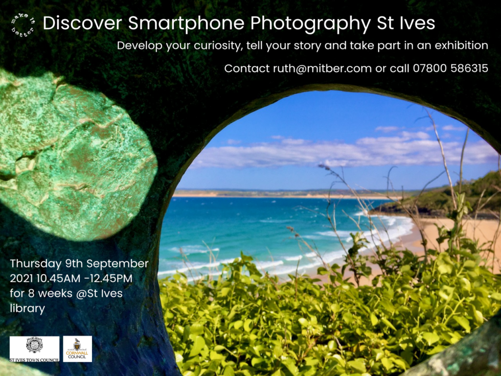 St Ives Library Smart phone-course