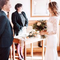 Wedding in the Mayors Parlour