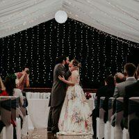 Star wars wedding kiss- Olivia Whitbread Roberts Photography